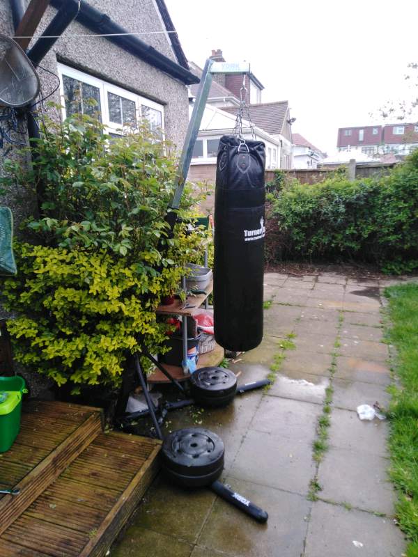 Outdoor Punch Bag Stand