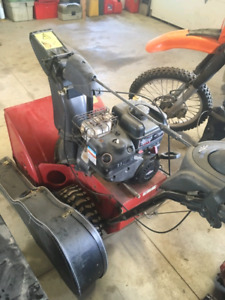 TWO EXCELLENT Running TORO SNOW BLOWERS
