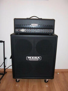 Roadster Dual Rectifier Mesa Boogie 100Watt Amp and 4X12 O/S Cab London Ontario image 1