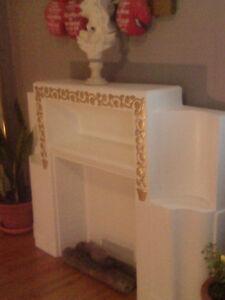 Vintage Ceramic Fireplace Mantel Peterborough Peterborough Area image 1