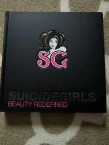 Suicide girls coffee table book