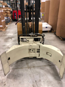 "Yale Clamp Truck with Cascade Roll Clamp over 50"" opening"