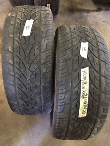 2 Kumho Ecsta - 275/55/20 - 50% - $40 For Both