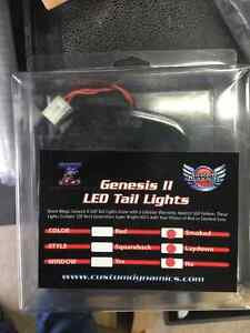 LED taillight Smoked Lens fits all touring 06-16