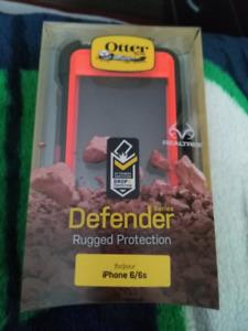 Camo defender otter box case iphone 6/6s