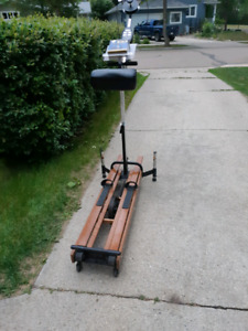 Antique Cross country Ski trainer Collectable