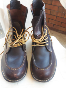 Timberland Men's Brown Leather Boots Size 12