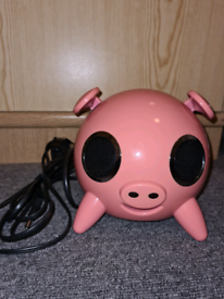 Pink Pig iPod Docking Station