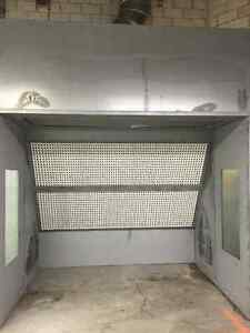 AIR COMPRESSORS AND SPRAY BOOTH