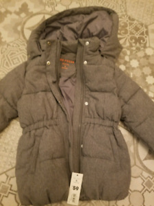 Girls size 5 winter coat. $20. New with tags