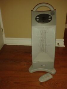 1,500 Watt Tower Portable Electric Heater with Remote Control