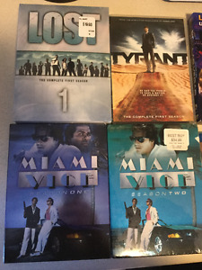 TV series on DVD or Bluray, just like new $5 each or 3 for $10