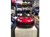 Jaquar F-Type 12v Mettalic Red, Parental Remote & Self Drive, Boxed & Warranty