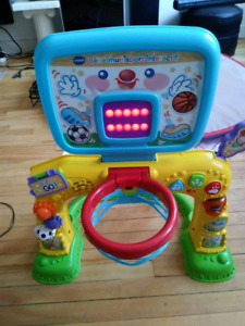VTECH BEBE MULTISPORT SINGING FRENCH INTERACTiF STAND TOY
