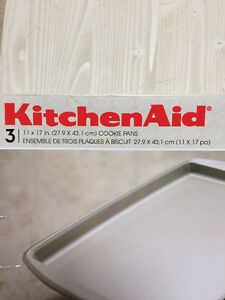 Cookie sheets Kitchen Aid 3 pack