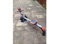 Body sculpture rower BR3010