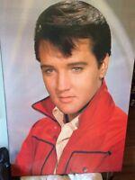 Elvis wood framed photo