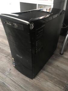Quad Core Desktop Computer - 8GB Ram - 750GB SSHD - Windows 10