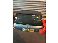 Renault Clio mk2 tailgate boot lid green blue turquoise Clio extreme 01-05