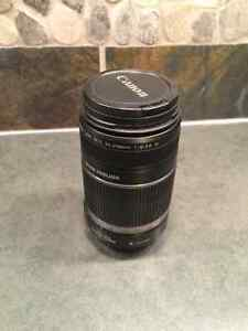 Canon EF-S 55-250 mm Lens with Image Stabilizer