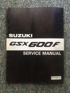 1988 Suzuki Katana GSX600F Service Manual