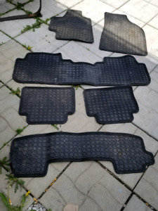 Tapis d'hiver Toyota highlander 7 passagers