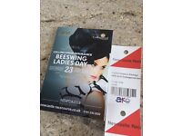 Premier Prosecco Package tickets for Ladies Day Newcastle