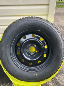 WINTER TIRES - 1 YEAR OLD