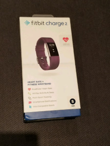 Brand new in box - Fitbit Charge 2 - Purple