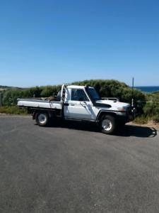 Landcruiser ute V8 Turbo Diesel Vdj79