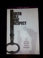 With All Due Respect by Ronald G. Morrish