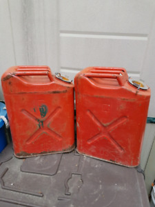 US Army gas cans