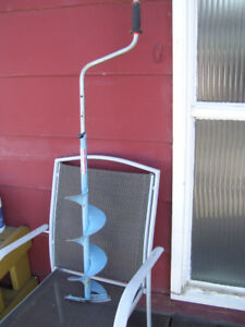 Normark 8-in Ice Auger with Telescopic Handle
