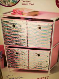 BRAND NEW kids 3/4 drawer chests