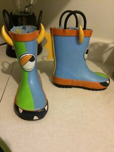 Boys rubber boots