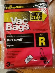 TYPE R canister vacuum bags