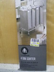 hometrends 3 Bin Laundry Sorter