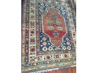Large Persian perusian Rug Red multi colour MUST GO