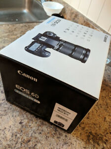 EOS 6D CANON with EF 24-105mm f/3.5-5.6 IS STM Kit 2300$ ! NEW