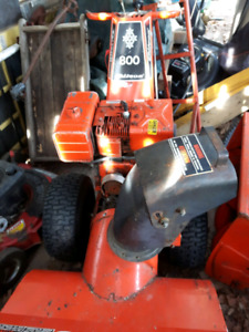 Rototillers and Snowblowers