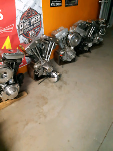 Harley Davidson  motorcycle parts garage sale