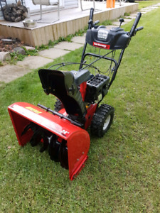 "Yardworks 24"" snowblower"