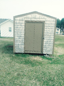 SHED 8'x12' with Cedar shakes 1000.00 OBO