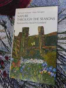 Nature Through the Seasons by Richard Adams and Max Hooper