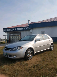 2005 Chevy Optra hatchback!