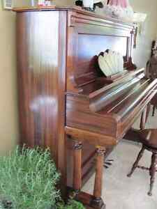PRICED TO SELL LATE 1800's ANTIQUE TRYBER PIANO Prince George British Columbia image 2