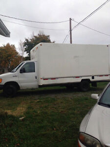2006 Ford E-350 moving truck 6l diesel 175000km