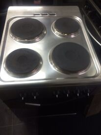 Stainless steel belling 50cm electric cooker grill & oven good condition with guarantee bargain