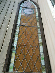 """Church Stained Glass Window 11 ft. tall, 32"""" wide Windsor Region Ontario image 1"""