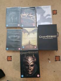 Game of thrones dvd boxset